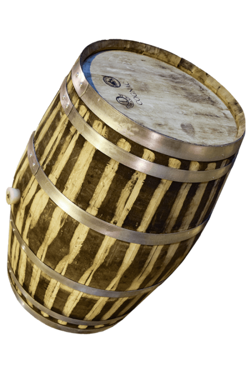 Used Oak Wine Barrel 1- Rocky Mountain Barrel Company