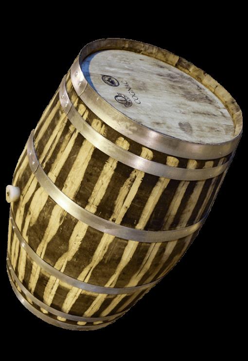 Used Oak Wine Barrel 1- Rocky Mountain Barrel Company