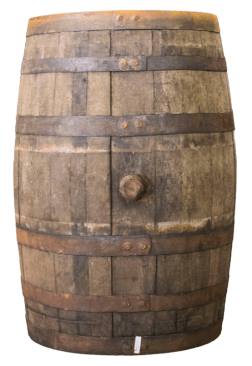 Used Rum Barrel