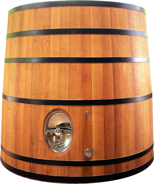 New French Oak Barrel Tronconical