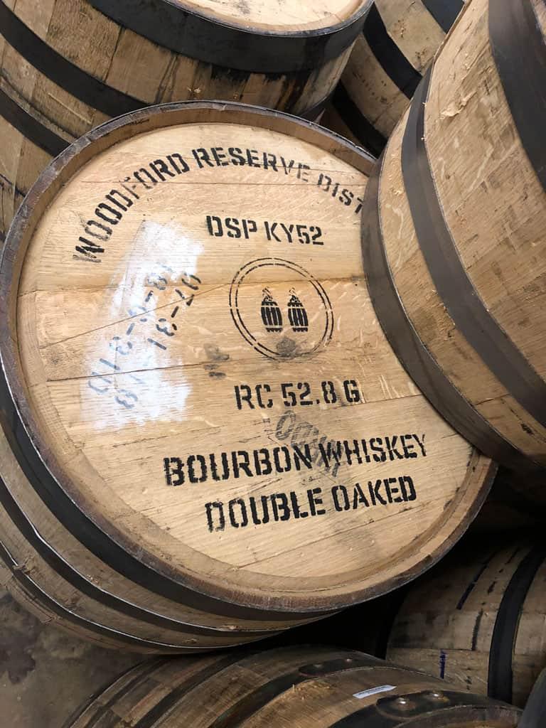 Picture of a Woodford Reserve Double Oak Bourbon Barrel